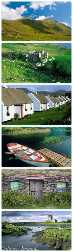 Postcards from beautiful Galway by unknown author. Repinned by WI/IE. Where I intend to base my next working holiday visa at: Galway, Ireland :) Hope it comes sooner than later!