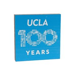 1595ee3a UCLA Centennial Table Top Square - Blue. The UCLA Store