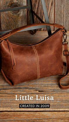 Little Luisa Tribe Roots, Shoulder Strap, Stitching, Handle, Canada, Closure, Zipper, Pockets, Interior