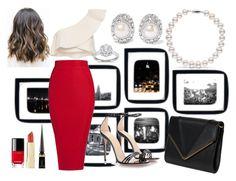 """Bez naslova #23"" by queenfashionist on Polyvore featuring moda, Isabel Marant, Gucci, Kenneth Jay Lane, Zac Posen, Chanel i Christian Louboutin"