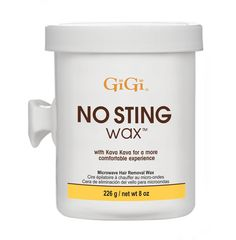 Gigi No Sting Microwave Wax Is An Extraordinary Designed For Clients Who Are E To Sensitivity This Gentle Minimizes Discomfort During Waxing