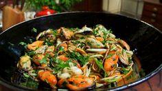 Fettuccine com marisco ao molho de salsa verde: receita de Olivier Anquier…