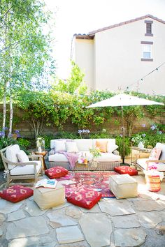 Beautiful outdoor living with The House That Lars Built for Arhaus