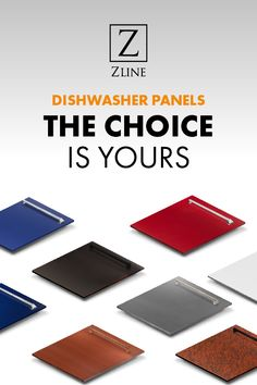 Fit for every kind of kitchen style. Match your colored panel ZLINE dishwasher to your ZLINE range!