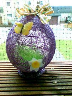 Kreatív húsvéti dekoráció - Lufi és zsinór | Nőivilág.hu