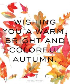 Happy Autumn ...