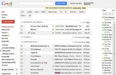 Gmail Survey: 58% of email users currently have a Gmail account, compared with just 30% in 2011