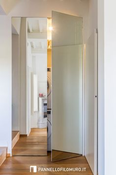 Tiny Laundry Rooms, Laundry Room Design, Laundry Cupboard, Movable Walls, Hidden Rooms, Wardrobe Cabinets, Room Closet, Minimalist Bathroom, Küchen Design