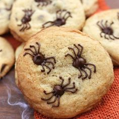 Chocolate Chip Spider Cookies | Tastes Better From Scratch