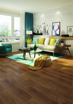 Color: Ormond Beach  ScubaTech™ combines the beauty of natural hardwood with the durability of laminate flooring plus the added benefit of water resistance.