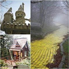 Abandoned Wizard of Oz theme park... all my childhood dreams have come at once! North Carolina