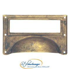 Classic Hardware Bosetti Marella, in. Antique Brass Distressed Surface Mount Bin Pull Card Holder, at The Home Depot - Mobile Cabinet And Drawer Pulls, Knobs And Pulls, Filing Cabinet, Cabinet Drawers, Home Hardware, Cabinet Hardware, Cabinet Knobs, Library Card, Business Card Holders