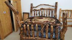 "Xtreme Rustic King Aspen!!  More Pics:  Like ""Black River Furniture Outlet"" on Facebook!!"
