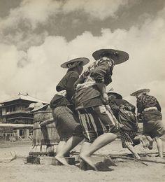 Photograph by anthropologist John W. Bennett, taken in Allied occupied Japan 1948-1951.