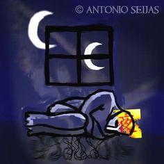 O coruñés Antonio Seijas é un gran afeccionado á...