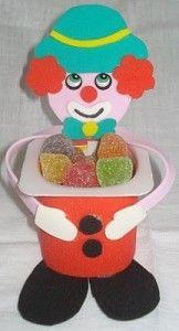 pudding cap clown craft