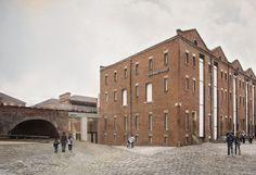 Carmody Groarke . MOSI Special Exhibition Gallery . Manchester  (2)