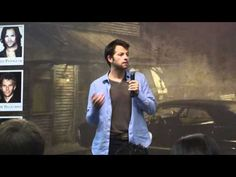 Misha impersonating Jensen as Dean - YouTube