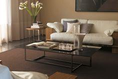 Contemporary coffee table / metal / marble - LONDRA by Opera Design - Porada