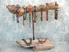 fun way to display jewellery!