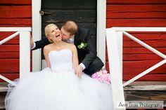 Dokumentaarinen hääkuvaus Hymy ja Esa - Hääkuvaaja Antti Ekola / wedding portrait Finland
