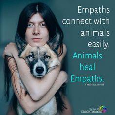 Animals healing energy for Empath Traits, Intuitive Empath, Highly Sensitive Person, Sensitive People, Yo Superior, Empath Abilities, Psychic Abilities, Hidden Agenda, Animal Reiki