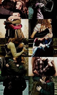 Harry and Hermione Hugs! :) <3