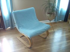 Punk Rock Martha Stewart Chair Slipcover & 2 Ikea Poang (klackbo) Chairs 25$ for 2 | For the Home Sewing ...