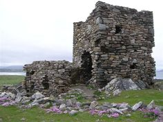 "Carrickabraghy  ""Doherty's"" Castle, Doagh Island, Inishowen, County Donegal, Ireland"