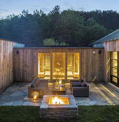 Pomfret Vermont architecture design private details Green Mountain modern contemporary