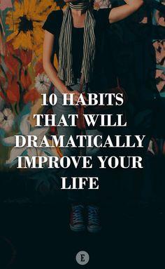 Habits can make or break us.
