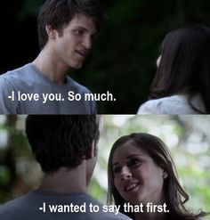 Keegan Allen (Toby) & Troian Bellisario (Spencer) - Pretty Little Liars