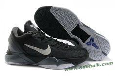 8da7f09bf4ac Hot Nike Zoom Kobe 7(VII) NBA Shoes Black Wolf Grey Kobe 8 Shoes