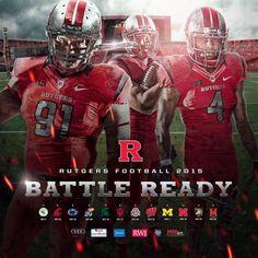 Rutgers 2015 Football Poster