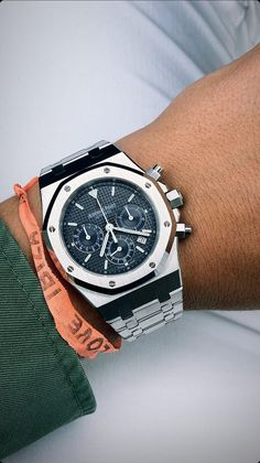 Audemars Piguet Royal Oak, Luxury Watches, Chronograph, Clocks, Fancy Watches