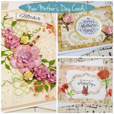 Mother's Day is just around the corner, on May 10th. Why not start shopping now for mom? I've got a bunch of new and beautiful Mother's Day Cards in the shop that would be perfect for the mom, gran...