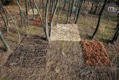 Miha Brinovec: I use natural materials to create different kind of land art installations. Every piece of my art slowly dissolves back into nature and disappears.