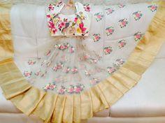 Beautiful organza saree in floral Grab it soon!!!  Product code: Sc - 206 For orders/Enquiries -  Contact Details:040-65550855/9949047889 Watsapp:9010906544/8142029190/9618229321 Email-id:Mugdha410@gmail.com Instagram:MugdhaArtStudio  mugdha  hyderabad  designer  wedding sashi