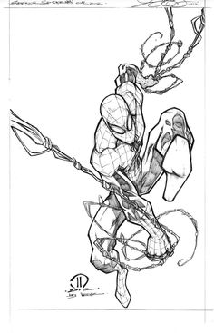 SUPERIOR SPIDERMAN PENCILS by JoeyVazquez.deviantart.com on @deviantART