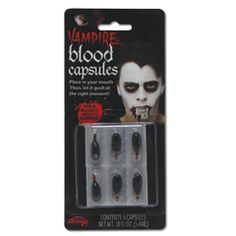 Blood Capsules from Windy City Novelties