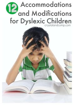 12 Accommodations and Modifications for Dyslexic Children in Public School - Parenting Dyslexia Activities, Dyslexia Strategies, Learning Disabilities, Reading Strategies, Dyslexia Teaching, Fluency Activities, Reading Groups, Learning Activities, Teaching Ideas