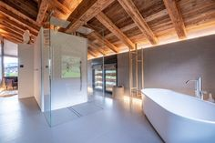 Chalet Largo - villa Chalet Largo Megeve | Isle Blue Alpine Style, Shared Bathroom, Workout Rooms, Double Beds, Great Rooms, Luxury Homes, Sweet Home, Villa, Indoor