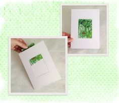 Gift Card, Blank Card with pocket for 2.5x3.5in Collectors Card, Photo, ACEO…