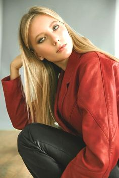 Film Icon, Vintage Leather, Leather Fashion, Leather Pants, Red Leather, Fashion Photography, Girly, Sexy, Jackets