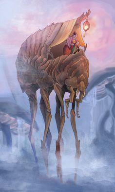 The Elder Scrolls,фэндомы,Morrowind,силт страйдер,deandominos Elder Scrolls Morrowind, Elder Scrolls Lore, Elder Scrolls Games, Elder Scrolls Skyrim, Elder Scrolls Online, Dunmer Skyrim, Dark Elf, Sci Fi Art, Fantasy Creatures