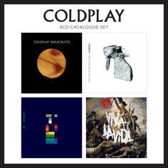 Coldplay - 4 CD Catalogue Set - Box Set
