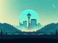Seattle by Nick Slater