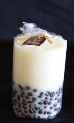 Coffee Bean Candles (Vanilla scented wax would smell divine!)