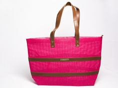 Bolsa de praia tela pink Barca