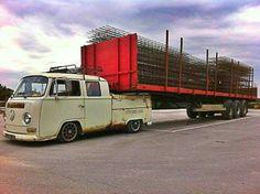VW camper campervan bus
